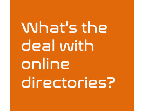 What's the deal with Online Directories? Do we need them?
